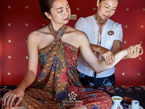 Aromatic Oil Massage Natural Wing Spa Samui