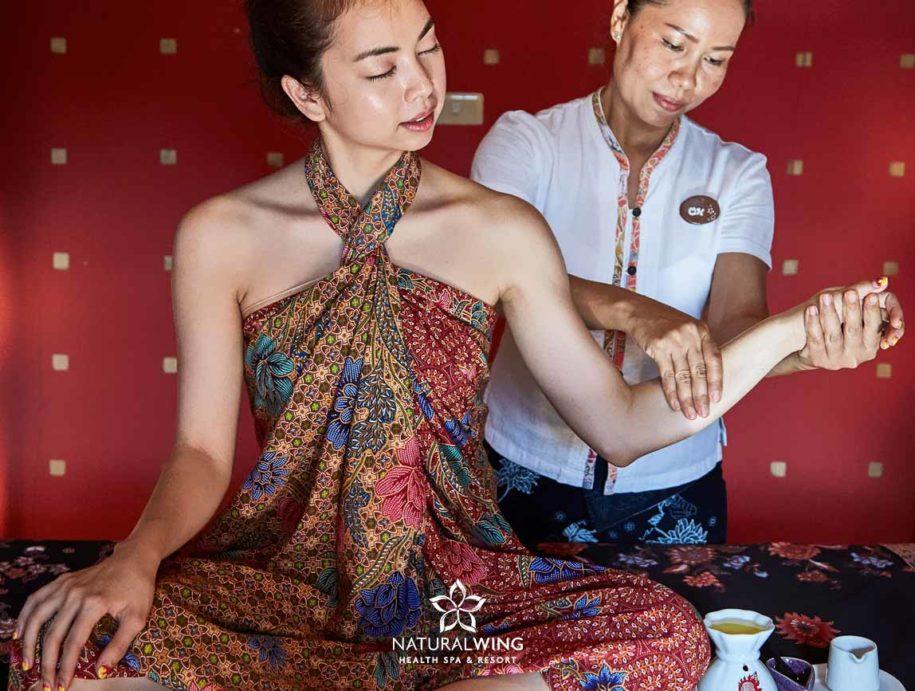 Aromatic Oil Massage Natural Wing Spa Samui