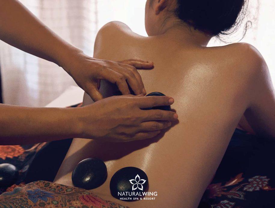 Hot Stone Massage Natural Wing Spa Samui