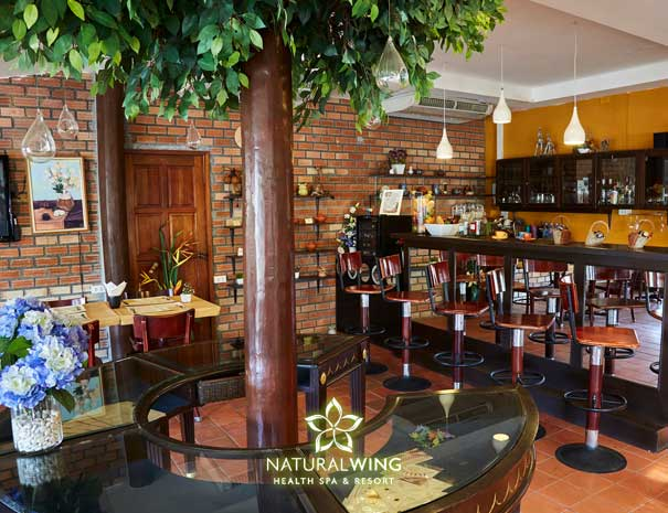 Natural Wing Spa Resort Main Restaurant