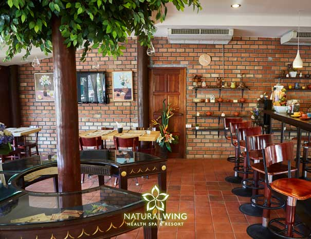 Natural Wing Spa Resort Main Restaurant