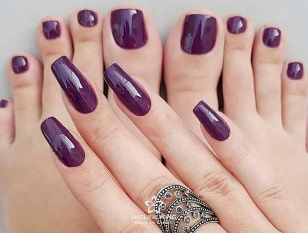 Pedicure Manicure Color Natural Wing Samui