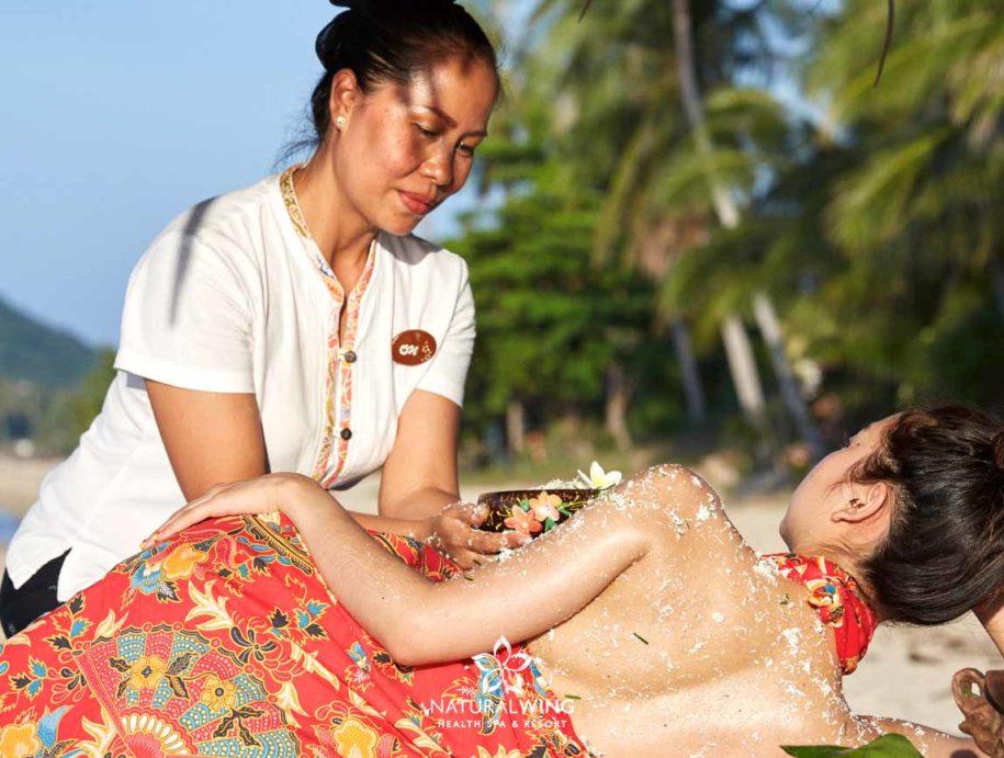 Samui Coconut Scrub Natural Wing Samui