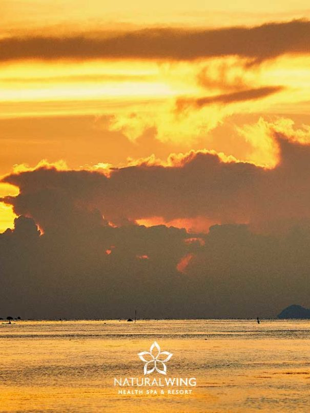 Gorgeous Sunset Every Day Natural Wing Spa Koh Samui