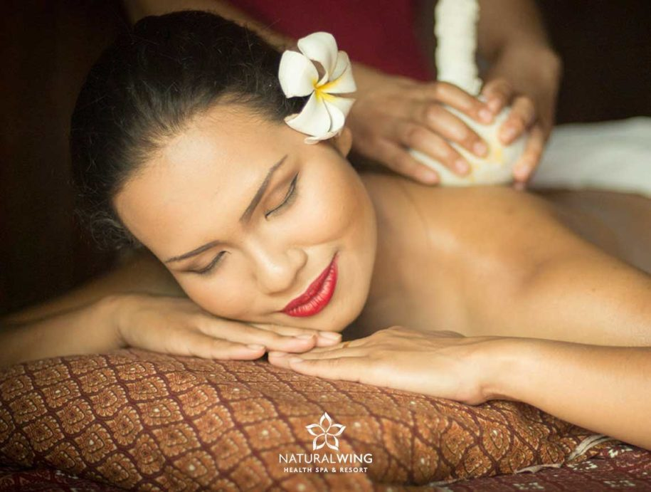 Thai Warm Herbal Compress Massage Natural Wing Spa Samui