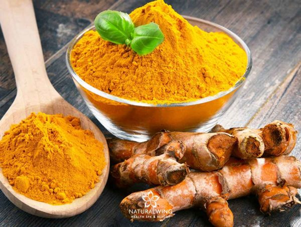 Turmeric Body Scrub Natural Wing Samui